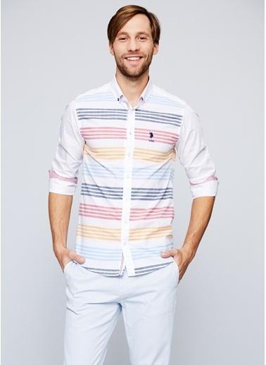 Çizgili Uzun Kollu Gömlek-U.S.Polo Assn.